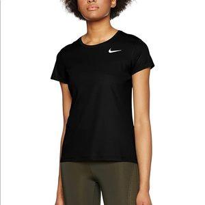 Nike Pro Dri-Fit Black Short Sleeve Top